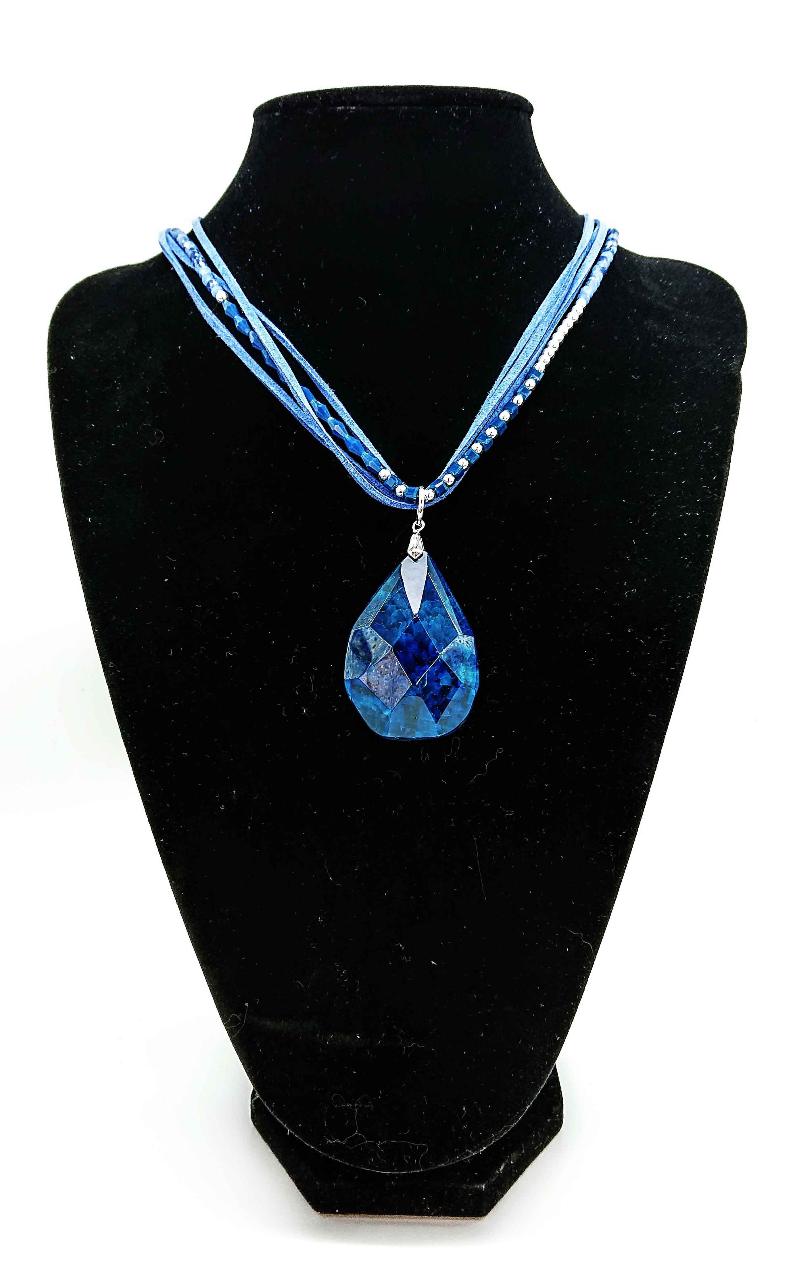 Jewellery Bead Pendant Blue