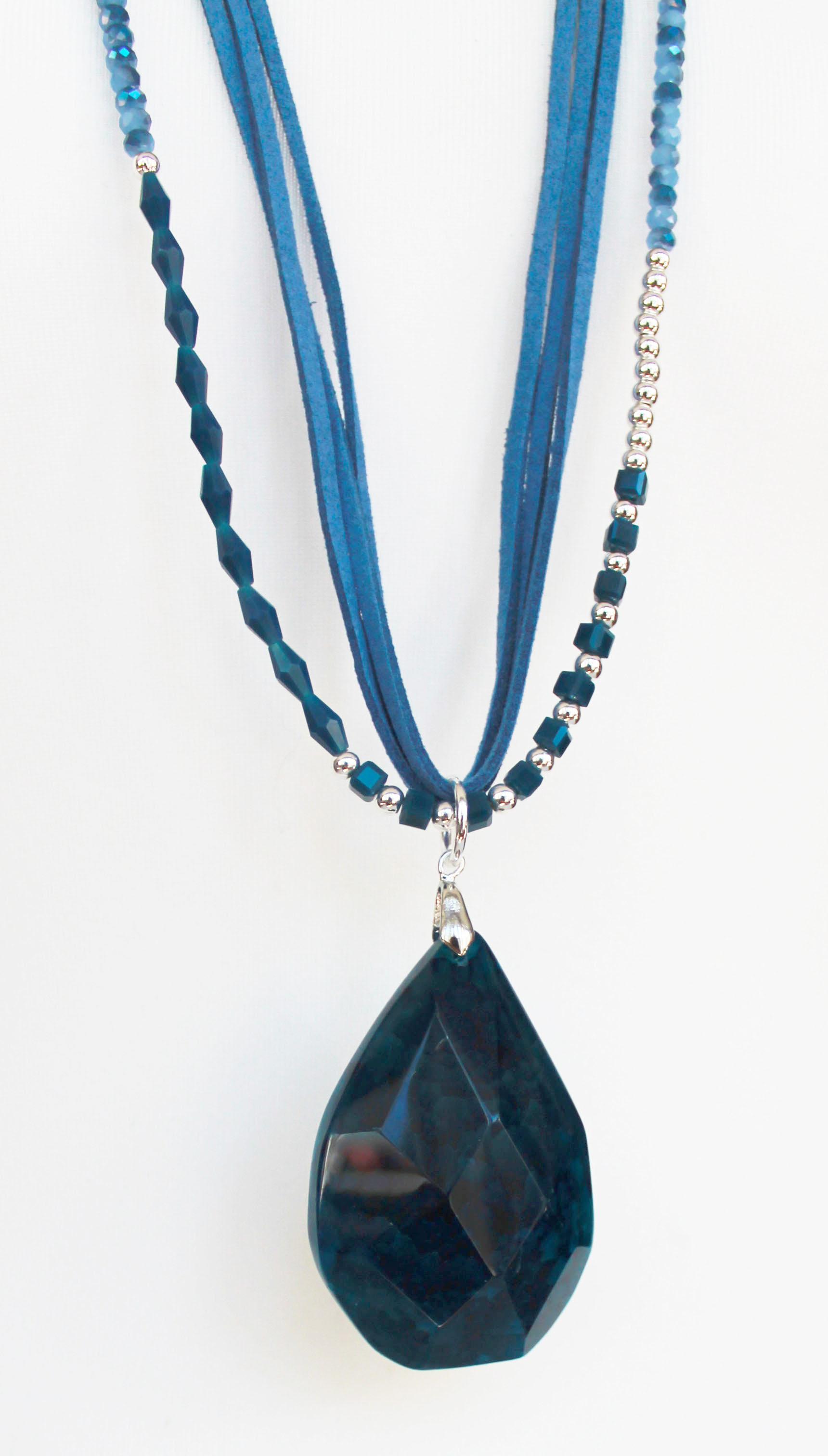 Jewellery Bead Pendant Blue