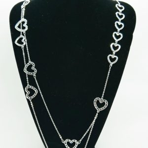 Dissentangled Hearts Necklace