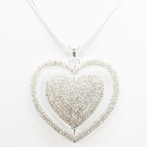 Heart of Diamond Necklace