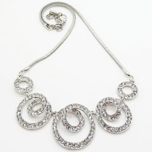 Spiral Silver Necklace