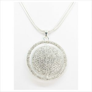 Sphere of Diamond Necklace