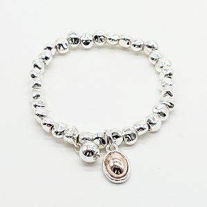 Twin Drop Charm Bracelet