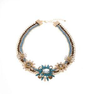 Festive Floral Necklace