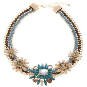 Festive Floral Necklace