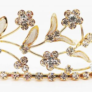 Gold Leaf Tiara