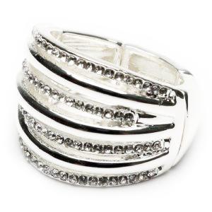 Diamante layer Ring