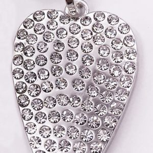 Sparkling Heart Necklace