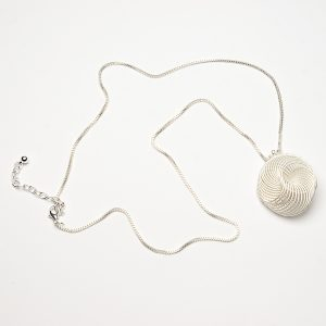Spiral Cage Necklace