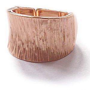 Ridged Rose Ring