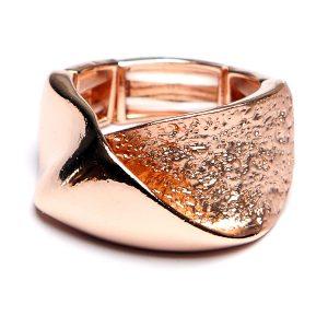 Rose Textured Ring