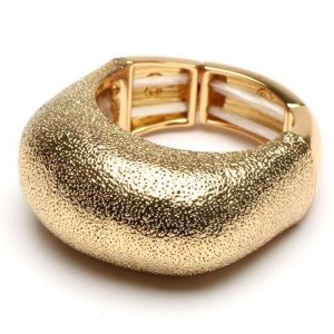 Textured Gold Cocktail Ring